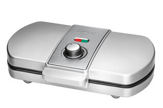 Вафельница CLATRONIC WA 3607 серебристый