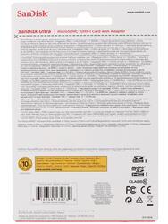 Карта памяти Sandisk ULTRA microSDHC 32 Гб