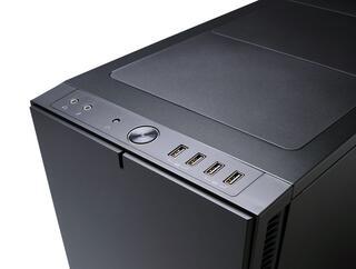 Корпус Fractal Design Define R5 Blackout Edition [FD-CA-DEF-R5-BKO-W] черный