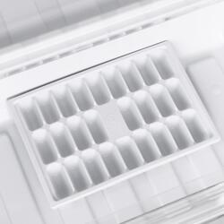 Холодильник с морозильником INDESIT DFM 4180 S серебристый