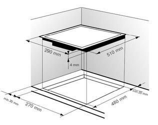 Электрическая варочная поверхность Zigmund & Shtain CNS 129.30 WX