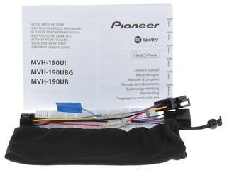 Автопроигрыватель Pioneer MVH-190UBG