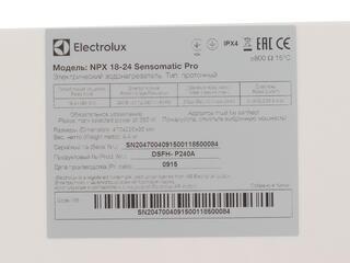 Водонагреватель Electrolux NPX 18-24 Sensomatic Pro