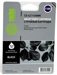 Картридж струйный Cactus CS-LC1100BK