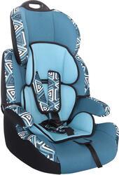 Детское автокресло Siger ART Стар Геометрия синий