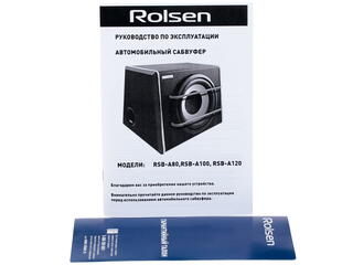 Автосабвуфер активный ROLSEN RSB-A100