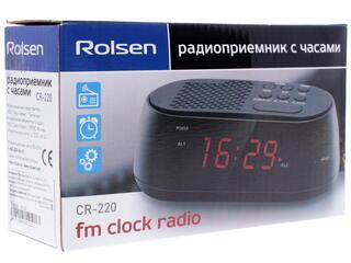 Часы радиобудильник Rolsen CR-220