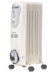 Масляный радиатор Vector V-7E белый