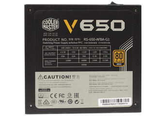 Блок питания CoolerMaster V650 [RS650-AFBAG1-EU]