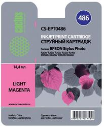 Картридж струйный Cactus CS-EPT0486