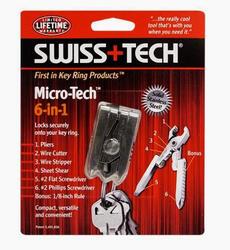 Многофункциональный инструмент Swiss+Tech Micro-Tech