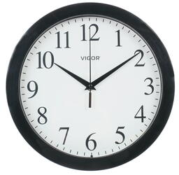 Часы настенные Vigor Д-29 ЧБ Классика в черном