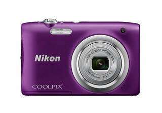 Компактная камера Nikon Coolpix A100 фиолетовый
