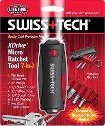 Многофункциональный инструмент Swiss+Tech Micro Ratchet Tool