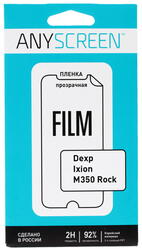 "5""  Пленка защитная для смартфона Dexp Ixion M350"