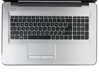 "17.3"" Ноутбук HP Notebook 17-y019ur серебристый"
