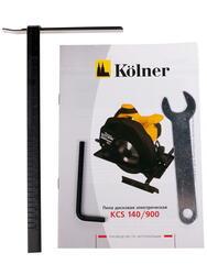 Пила дисковая Kolner KCS 140/900