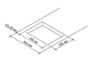 Газовая варочная поверхность Pyramida PFS 320 SX-E