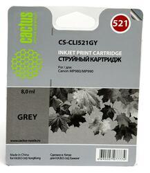 Картридж струйный Cactus CS-CLI521GY