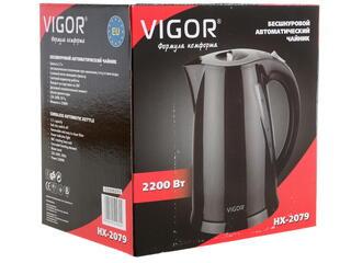 Электрочайник Vigor HX-2079 черный