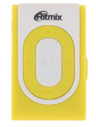 MP3 плеер RITMIX RF-2400 желтый