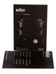 Пароварка Braun FS5100BK черный