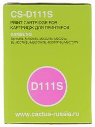 Картридж лазерный Cactus CS-D111S