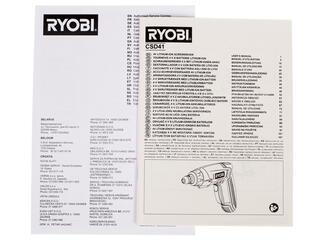 Аккумуляторная отвертка RYOBI CSD4130GN
