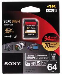 Карта памяти Sony SDXC 64 Гб