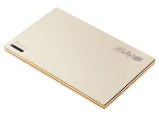 Портативный аккумулятор HIPER Power Bank SLIM2000+ золотистый