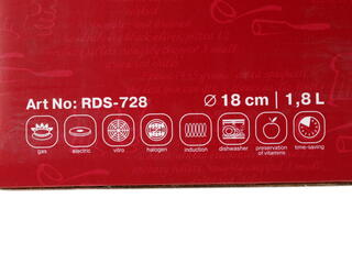 Кастрюля Rondell RDS-728 Destiny серебристый