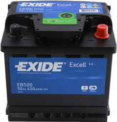 Автомобильный аккумулятор EXIDE EXCELL EB500