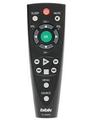 """43"""" (108 см)  LED-телевизор BBK 43LEM-1007 черный"""
