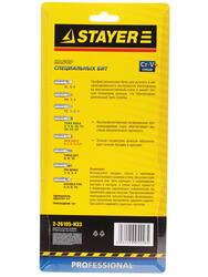 Набор бит STAYER 2-26105-H33