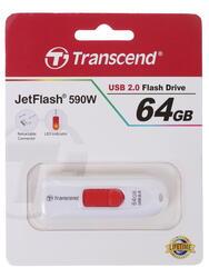 Память USB Flash Transcend JetFlash 590W 64 Гб