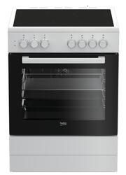 Электрическая плита Beko FSE67100GWS белый, черный