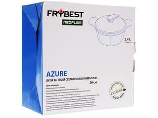 Кастрюля Frybest AZ-C20 Azure голубой