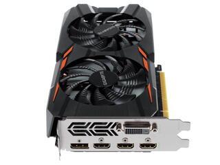 Видеокарта Gigabyte GeForce GTX 1050 WF2 OC [GV-N1050WF2OC-2GD]
