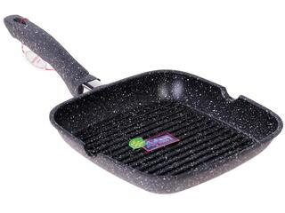 Сковорода-гриль Supra SAD-K2424G marble черный