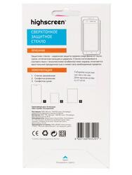 "5"" Защитное стекло для смартфона Highscreen Power Five Evo"