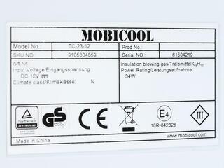 Холодильник автомобильный Mobicool U30 DC синий