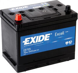Автомобильный аккумулятор EXIDE EXCELL EB705