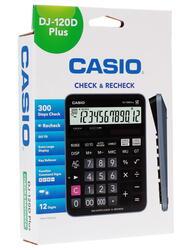 Калькулятор CASIO DJ-120DPLUS-W-EP