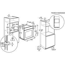Газовый духовой шкаф Electrolux EOG91102AK