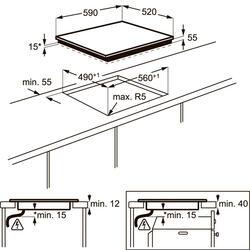 Электрическая варочная поверхность Electrolux EHL96740FZ