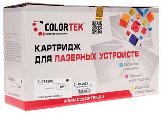 Картридж лазерный Colortek CF280X