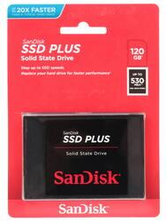 120 Гб SSD-накопитель Sandisk SSD Plus [SDSSDA-120G-G26]