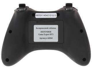 Геймпад Defender Game Expert BT1 черный