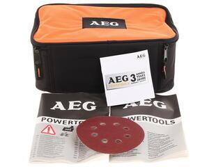 Эксцентриковая шлифмашина AEG EХ 125 ES