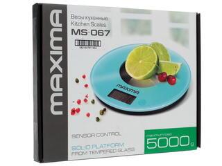 Кухонные весы Maxima MS-067 красный